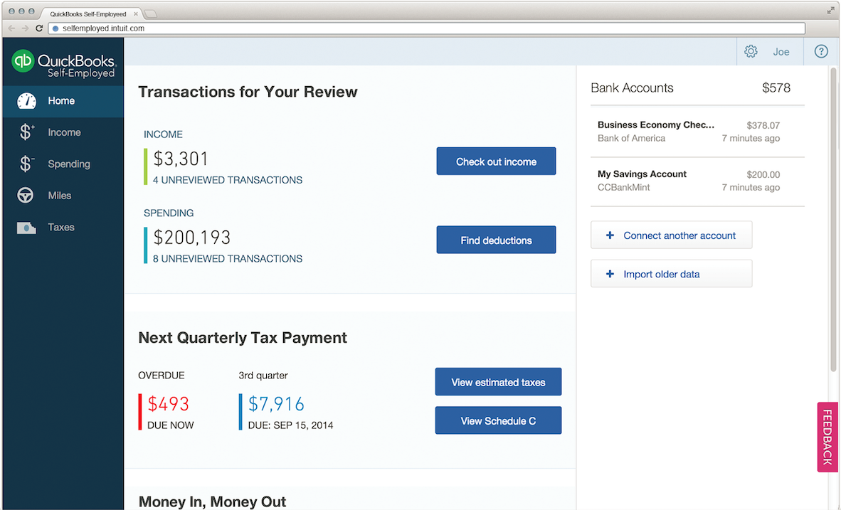 Quickbooks - Given