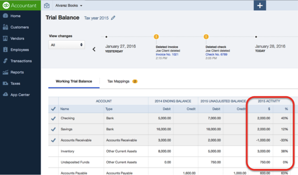 Simple Accounting Trial Balance Software