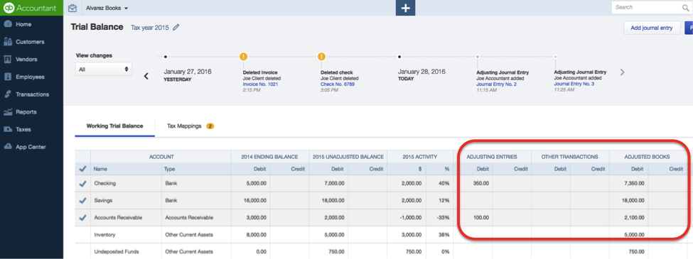how to create an opening balance in quickbooks