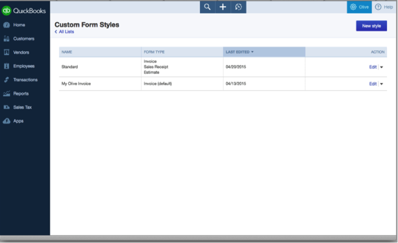 until now customizing invoices estimates and receipts has been limited in quickbooks online qbo now the new sales form customization feature will